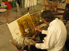 Image result for vincent desiderio self portrait