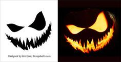 Image result for pumpkin carving stencils