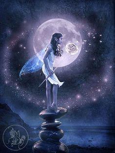 Un mundo de fantasía - todo mi mundo de los sueños, los deseos, el amor y la fantasía está aquí ...