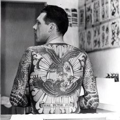 duel in the sun (lyle tuttle tattooed by doc forbes)
