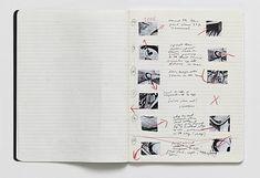 Tacita Dean  cutting book for The Friar's Doodle, 2010  pencil, ink, sketchbook