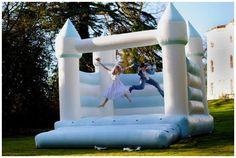 Bridal Bounce - Bouncy Castle Hire for Your Wedding   LONDON BRIDE