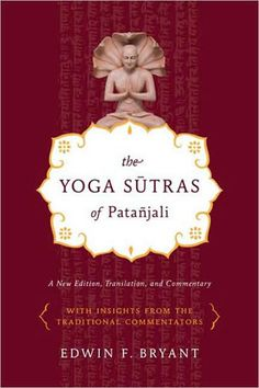 Yoga Sutras of Patanjali book with translation of the ancient text