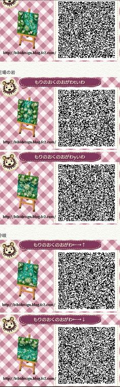 Animal Crossing: New Leaf & HHD QR Code Paths — Credit