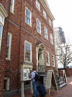 City Tavern, Philadelphia, PA.  This was where the Congress gathered outside of the State House (Independence Hall).