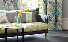 Spring is in the air! Our Mariken collection in starfruit packs a colourful punch. From Villa Nova