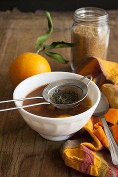 Tisana all'arancia, cannella e melissa - Orange, cinnamon, lemon balm