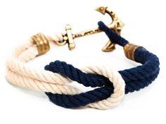 Anchor Bracelet (White/Navy)                                                                                                                                                     もっと見る