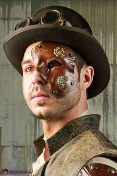 Steampunk Costume - Halloween Costume Contest via @costumeworks