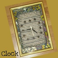TITLE : Yellow and White Flowers. MEDIUM : Acrylic ,Ink and pastels on Rubber. #MeghnaCreations #creations #clock #yellow #white #flowers #acrylicandink #pastels #onrubber #blackrivets #onpvc #floor #arttiles #materialuse #stitch #gift #mumbai #instaclockart