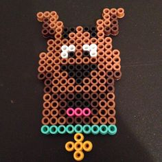 Scooby-Doo perler beads by perlercrazy