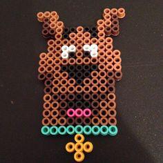 Scooby-Doo perler beads by perlercrazy