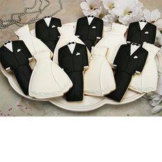 bride and groom cookies costco