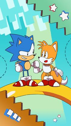 Sonic and Tails by SupaSmashSketcher on DeviantArt Sonic Team, Sonic 3, Sonic And Amy, Sonic And Shadow, Sonic Fan Art, Sonic The Hedgehog, Silver The Hedgehog, Shadow The Hedgehog, Sonic Fan Characters