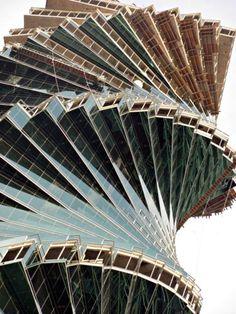 Panamas Revolution Tower rotated