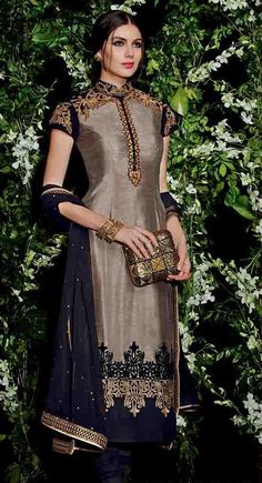 http://shreemadhufashion.com/salwar-kameez/elegant-gray-silk-straight-salwar-kameez-suit.html