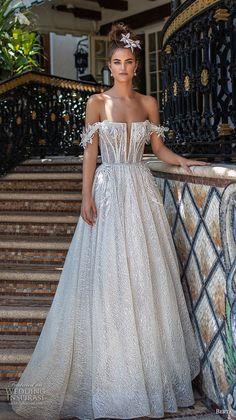 "21ca0afe51 Berta Spring 2019 Wedding Dresses — ""Miami"" Bridal Collection"