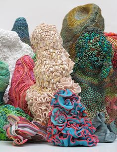 Angelika Arendt, 2013 various sculptures of polymer clay