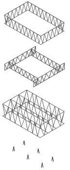 Leutschenbach Schule by Christian Kerez, structure, schematic representation