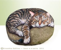 Washington cat | Flickr - Photo Sharing! - Sleeping on a very very large rock! - by Ernestina on flickr