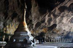 Sadan Cave, Kayin State, Myanmar (formerly Burma)
