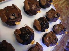 Chocolate Lab Cupcakes