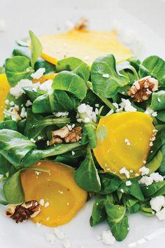 golden beet salad is certain to win over even the staunchest beet ...