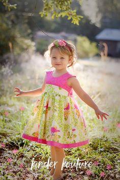 Fiona's Garden Party Dress