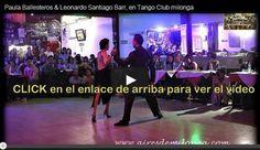 Woooouuu la exhibición de anoche en Tango Club, ya la contemplan en video mas de 100 países   www.facebook.com/airesdemilonga