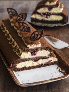 Baking Recipes, Cake Recipes, Dessert Recipes, Swiss Roll Cakes, Torte Cake, Little Cakes, Colorful Cakes, Polish Recipes, Pastry Cake