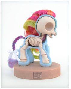 My little pony by Jason Freeny