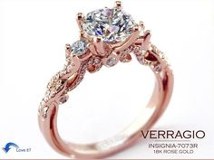 Verragio- rose gold. A little fancy, but I like the uniqueness and just love the colour.