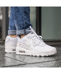 e15b4456e3 Cheap Nike Air Max 90 White Trainers Black Friday Sale Air Max Sneakers, Sneakers  Nike