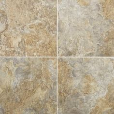 "Mannington Adura Rushmore Glue Down Resilient 16"" x 16"" x 4mm Luxury Vinyl Tile in Keystone"