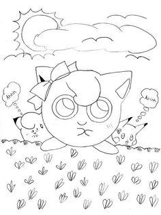 Desenhos para pintar Pokemon 70