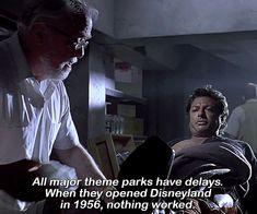 BROTHERTEDD.COM - dailyflicks: JURASSIC PARK (1993) dir. Steven... Jurassic Park 1993, Steven Spielberg, Disneyland, Disney Resorts