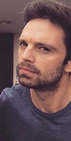 - ̗̀ saith my he A rt ̖́- Sebastian Stan, Anthony Mackie, Le Male, Dc Movies, Marvel Actors, Bucky Barnes, Winter Soldier, Attractive Men, Chris Evans