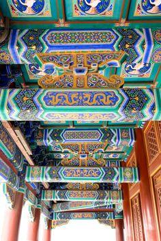 Temple overlooking the Forbidden City in Beijing, China // Via Stacie Flinner