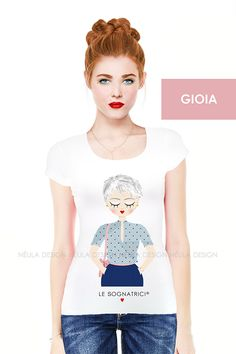 Le Sognatrici - Gioia - T-shirt - Tees - Outfit - Style -  www.lesognatrici.com