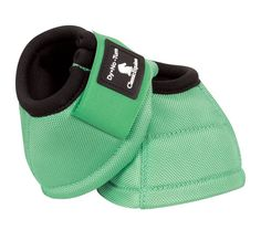 NEW - MINT GREEN! Classic Equine DL No Turn Bell Boots