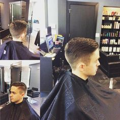 #menshaircut #headbangerssalon Such a sharp haircut by Coz