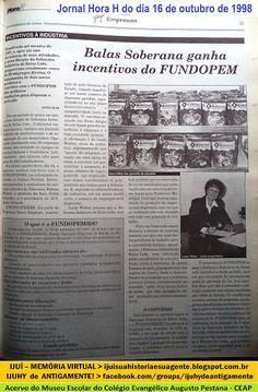 IJUÍ - RS - Memória Virtual: Balas Soberanas de Ijuí - em plena atividade em 19...