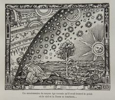 This is a picture of the original Flammarion engraving.