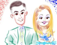 See all the Communion #caricatures I drew yesterday in NJ https://facebook.com/caricature.artist.nyc