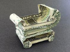 BABY BUGGY Dollar Origami
