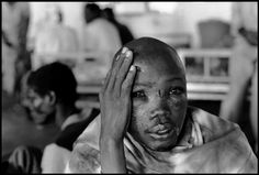 Gilles Peress - RWANDA. 1994. Kabgayi. Hospital near a concentration camp.