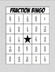 A great way to practice adding and subtracting fractions with common denominators.  Simplifying fractions required.