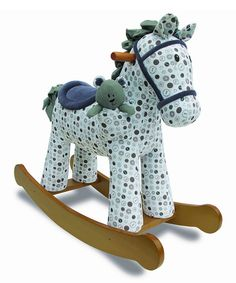 Look at this Dylan & Boo Rocking Horse & Plush Toy on #zulily today!