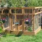 Ana White | Garden Enclosure - Built by Home Depot Garden Club - DIY Projects