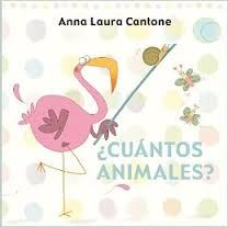 """Son xustamente as imaxes, as cores e o formato que acompañan ao lector ao longo de todo o libro. Un… é un peixe. Dous… son dous jirafas Tres… son tres abellas"""" Punto azul"""